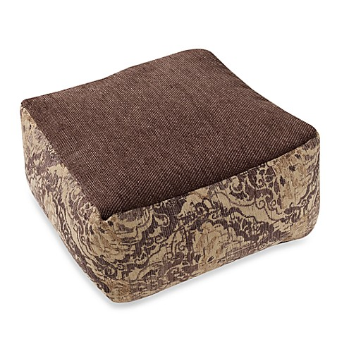 Abassi Taupe/Brown Floor Cushion