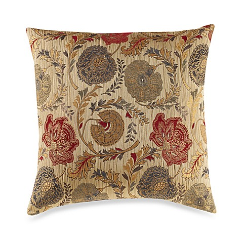 Adelso Red Multi Throw Pillow
