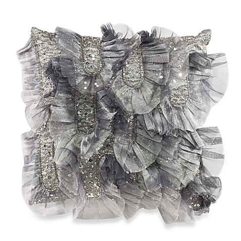 Glinda Silver Toss Pillow