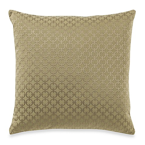Chain Link Moss Toss Pillow