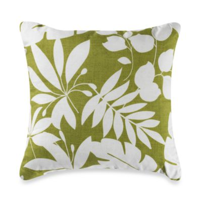 Nantucket Lila Square Toss Pillow