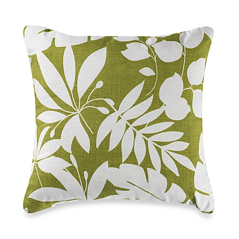 Nantucket Lila Square Throw Pillow
