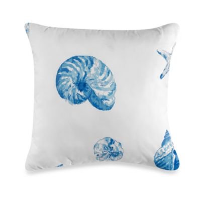 Nantucket Square Toss Pillow