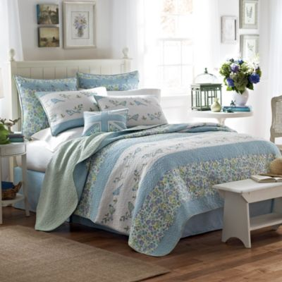 Laura Ashley® Birds and Branches Quilt