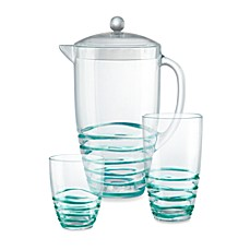 Green Swirl Drinkware Collection