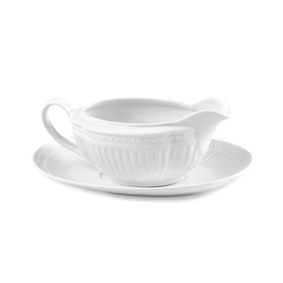 Mikasa® Italian Countryside Gravy Boat with Saucer