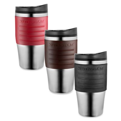 KitchenAid® Personal Brewer Coffee Maker Thermal Mug in Onyx Black