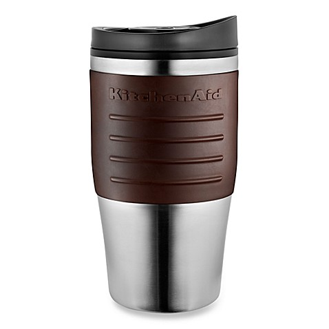 KitchenAid® Personal Brewer Coffee Maker Thermal Mug in Espresso