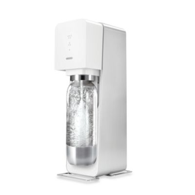 SodaStream SOURCE™ Sparkling Water Maker Metal Edition Starter Kit in White