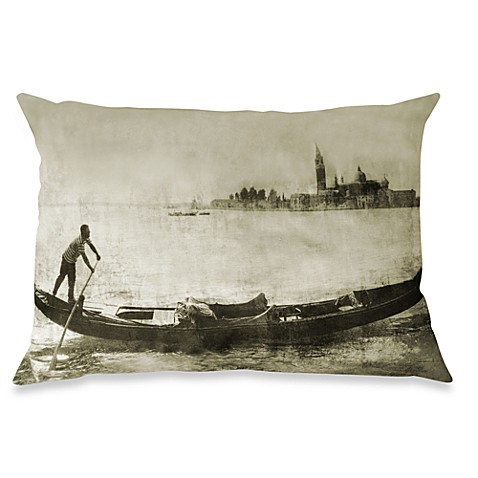Venice Oblong Throw Pillow