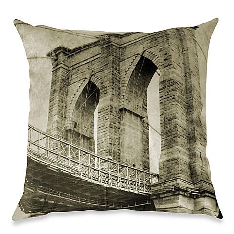Brooklyn Bridge Pillows - CafePress