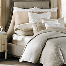 Barbara Barry® Lace Border Duvet Cover, 100% Cotton