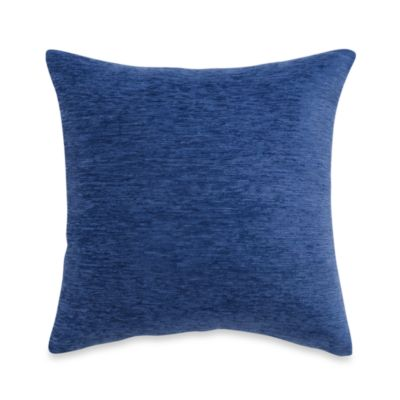 Blue Chenille Throw Pillows : Buy Crown Chenille Throw Pillow in Blue (Set of 2) from Bed Bath & Beyond