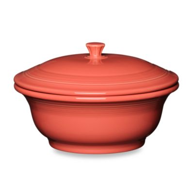 Fiesta Flamingo Flaming Covered Casserole Dish
