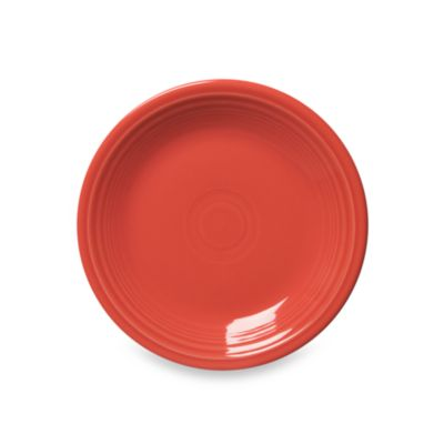 Fiesta Flamingo Flaming 7 1/4-Inch Salad Plate