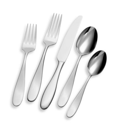 50-Piece Steel Flatware