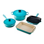 Le Creuset® 6-Piece Signature Set in Caribbean
