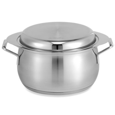 BEKA 5.25-Quart Stainless Steel Fryer and Steamer with Stainless Steel Serving Lid