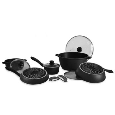 Sharper Image® 10-Piece Aluminum Cookware Set