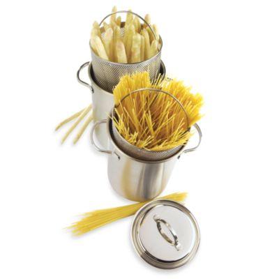 Demeyere 4.8-Quart Asparagus/Pasta 3-Piece Cooker Set