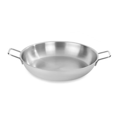 Demeyere 14.8-Quart Stainless Steel Paella Pan