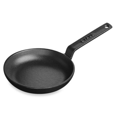 Staub Black 4.75-Inch Mini Fry Pan