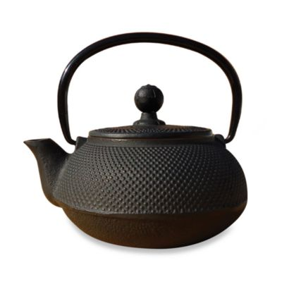 "Tetsubin ""Sapporo"" 20-Ounce Cast Iron Tea Pot with Infuser"