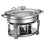 Tramontina® Stainless Steel 4.2-Quart Oval Chaf in g Dish