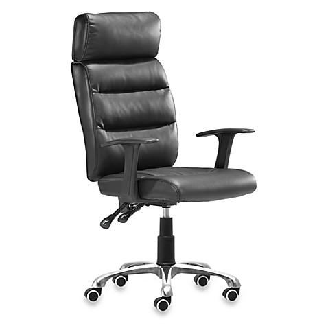 Zuo Modern Unity Office Chair in Black