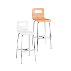 Zuo Modern Escape Bar Chairs (Set of 2)