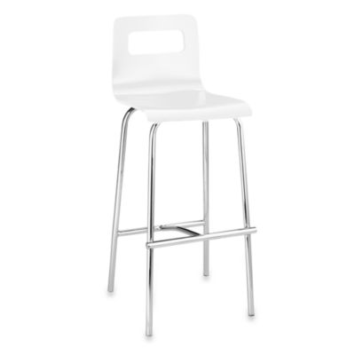 Zuo® Modern Escape Bar Chairs (Set of 2) in White