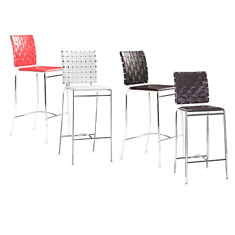 Zuo® Modern Criss Cross Counter Chair (Set of 2)