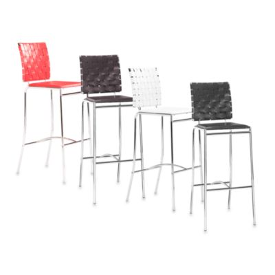 Zuo® Modern Criss Cross Bar Chairs (Set of 2)