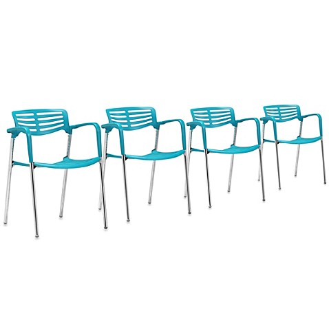 Zuo Modern Scope Dining Chair (Set of 4)