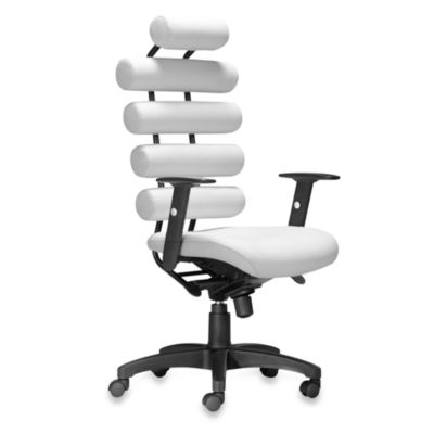Zuo® Modern Unico Office Chair in White