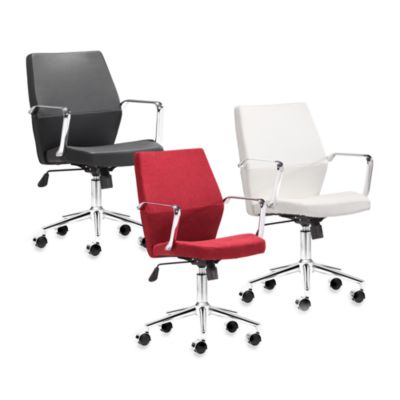 Zuo® Modern Holt Low Back Office Chair