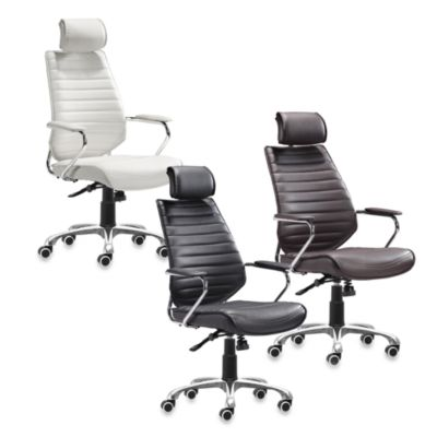 Zuo® Modern Enterprise High Back Office Chair