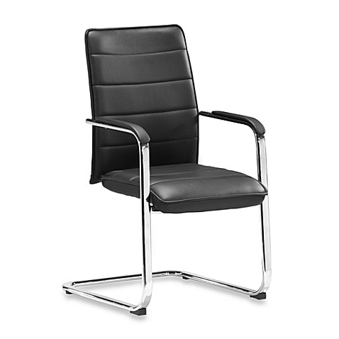 Zuo Modern Enterprise Conference Chair in Black (Set of 2)