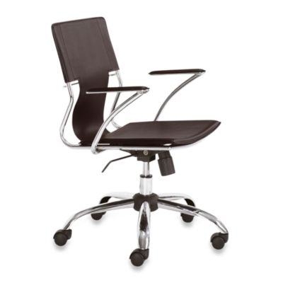 Zuo® Modern Trafico Office Chair in Espresso