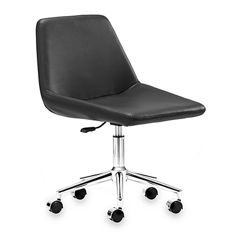 Zuo Modern Zen Office Chair in Black