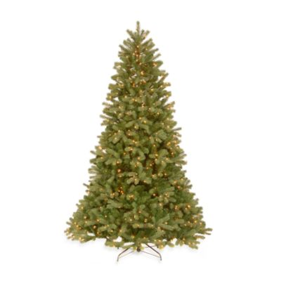 Feel-Real® 7 1/-2 Foot Downswept Pre-Lit Douglas Fir Tree with 450 Clear Lights