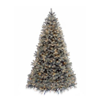 National Tree Feel-Real® Down Swept 7-Foot 6-Inch Pre-Lit Douglas Fir Christmas Tree