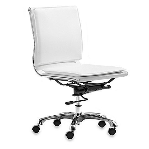 Zuo® Modern Lider Plus Armless Office Chair