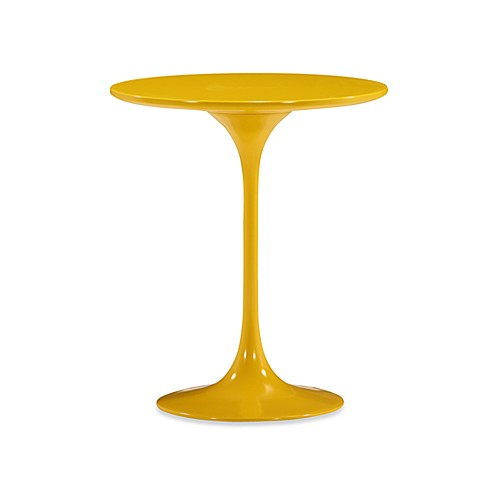 Zuo Modern Wilco Side Table in Yellow