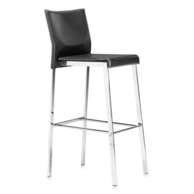 ZUO Modern Boxter Bar Chair in Black
