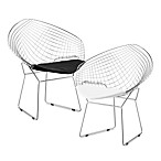 Zuo® Modern Net Dining Chair (Set of 2)