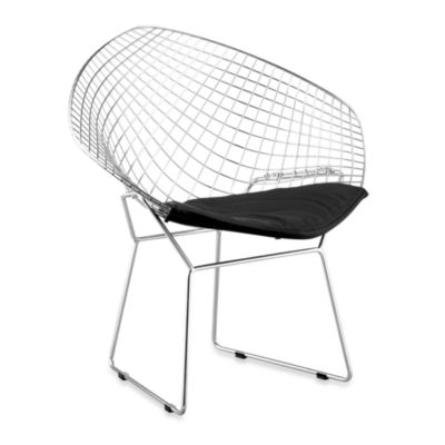 Zuo® Modern Net Dining Chair in White (Set of 2)