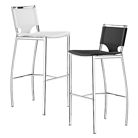 Zuo Modern Lark Bar Chair (Set of 2)