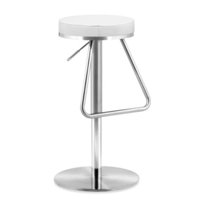 Zuo® Modern Soda Barstool in White
