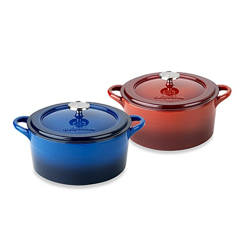 Simply Calphalon® Enamel Cast Iron 5-Quart Dutch Ovens